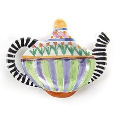 Piccadilly Teabag Holder - Mackensie Childs