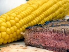 060612- Dinner - Steak and Corn - I know - no corn on Slow Carb Diet. I throw it in now and then.