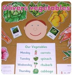 Oliver's Vegetables Teaching Resources *PDF via Email Delivery Oliver's Vegetables primary resou Eyfs Classroom, Classroom Displays, Help Teaching, Teaching Resources, Primary Resources, Teaching Ideas, Fruit And Veg, Fruits And Vegetables, Veggies