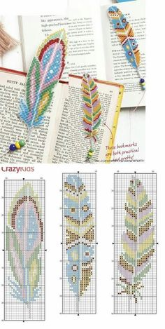Bastelarbeiten Federn machen Baby Bedding Online Article Body: Baby bedding is one of those things t Cross Stitch Bookmarks, Cross Stitch Charts, Cross Stitch Designs, Cross Stitch Patterns, Cross Stitch Books, Cross Stitch Borders, Bead Loom Patterns, Beading Patterns, Embroidery Patterns