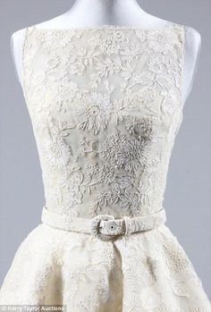 Audrey Hepburn's Oscar Dress - 1954 -Design by Edith Head (American, 1897-1981) - 'Roman Holiday'
