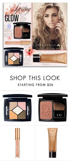 """Sweet Spring Glow"" by suzanne228 ❤ liked on Polyvore featuring beauty, Christian Dior, Elizabeth Arden and springglow"