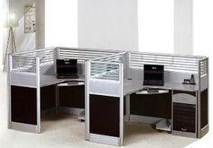 Cubículo moderno, partición de la oficina, sitio de trabajo de la oficina, muebles de oficinas