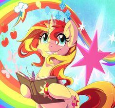 """villageimm: """" Dear princess Twilight by RainbowScreen """""""