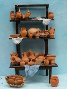 Accessoires, meubles et miniatures pour les lits - Le Presepio.com - Vente crèches: figurines, accessoires, effets spéciaux, bricolage pour la crèche.