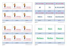 Un jeu de conjugaison pour apprendre et mémoriser la conjugaison au passé simple des verbes finir- agir - courir - partir Cycle 3, Bicycle Quotes, Weight Loss, Memories, Teaching, Education, School, Life, Montessori
