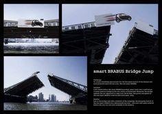 """Bridge Jump"" by BBDO Düsseldorf for smart BRABUS"