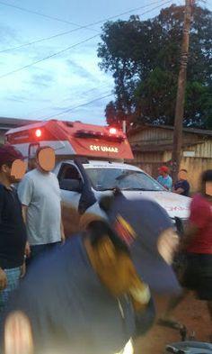 Um morre e outro fica ferido em colisão de motocicletas na cidade de Uruará (PA). Saiba mais lendo o nosso blog http://gazetauruara.blogspot.com.br/2016/05/batida-de-motocicletas-deixa-uma-vitima.html