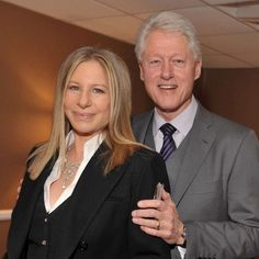 BARBRA STREISAND AND BILL CLYNTON