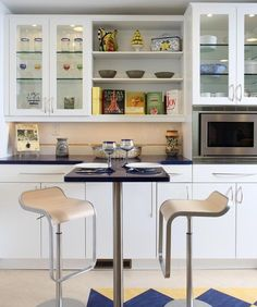 Contemporary Kitchen Cabinet Doors cabinet contemporary kitchen handles Elegant Glass Cabinets For A Cool Contemporary Kitchen