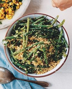 Quinoa and Green Bean Salad