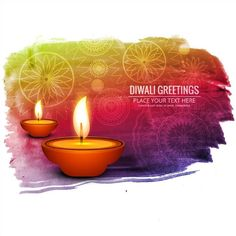 50 beautiful diwali greeting cards design and happy diwali wishes free vector diwali greetings watercolor splash background with oil lamp and floral art background http m4hsunfo