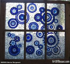 Glass plates glued to a windownius do it yourself creations solution for window conundrum solutioingenieria Gallery