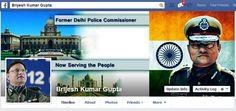 Former New Delhi Police Commissioner Facebook Fan page