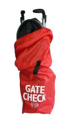 Umbrella Stroller Gate Check Travel Cover Bag Protect Your Stroller on Airplane #JLChildress