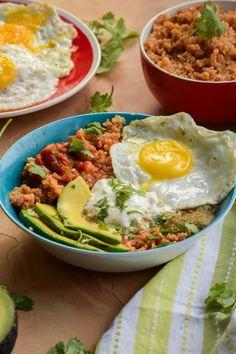 Quick and Easy Huevos Rancheros Quinoa Power Bowls (2)
