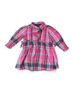 ralph lauren plaid dress - $18