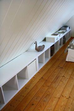 Ikea With Tittle And Home Ideas Roof Slope Space Benefit Diy Attic Renovation, Attic Remodel, Loft Room, Bedroom Loft, Room Closet, Attic Playroom, Attic Office, Playroom Ideas, Small Attics