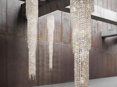 FJORD Crystal pendant lamp by Manooi #crystalchandelier #lightingdesign #interior #chandelier #coollamps #luxury #Manooi