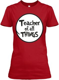 Teacher Of All Things | Teespring