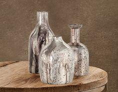 Croscill | Luxury Bedding, Bath, Window and Home Decor #metal #vases #containers #croscill #texture #wood #homedecor #decor