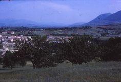 Giugno 1970 - Panoramica di Matelica dalle Serre Alte (03)