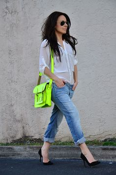 someone buy me a neon bag, please!?