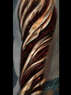 Best 3D Sleve Tattoos | Left Sleeve 3D Biomechanical Tattoo