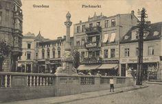 Graudenz, Westpreußen: Fischmarkt
