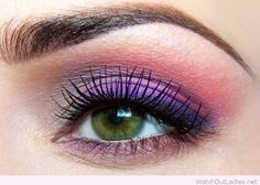 makeup-trucco-occhi-verdi-prugna-viola.jpg 710×506 pixel