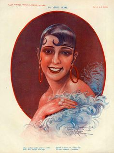 Josephine Baker 'La Vie Parisienne' c.1926