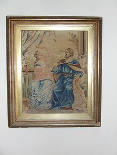 Very Old Rare Antique Tapestry | eBay