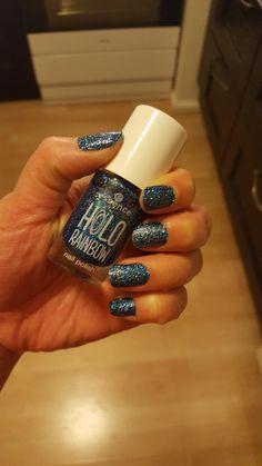 Sparkles, blue nailpolish, essence Sparkles, Class Ring, Nail Polish, Nails, Shop, Blue, Finger Nails, Ongles, Nail