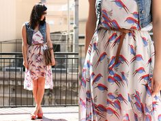 Núria Juangran - Pull & Bear Vest, Gossipi Dress, Pull & Bear Shoes - FashionBirds