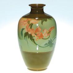 1909 Rookwood vase by Fred Rothenbusch, Iris Glaze.