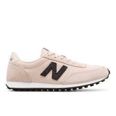 410 70s Running Suede Women's Running Classics Shoes - Pink/Black (WL410PK)