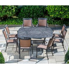 Have to have it. Pilot All-Weather Wicker Square Patio Dining Set - Seats 8 $3999.99