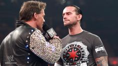 Chris Jericho criticizes the WWE Champion CM Punk.