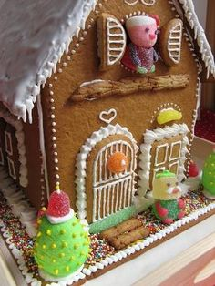 gingerbread cottage by aline