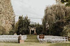 Bohemian garden wedding ceremony inspiration | Image by The McLachlans Bohemian Wedding Inspiration, Wedding Photography Inspiration, Outdoor Ceremony, Wedding Ceremony, Bridal Gallery, Wood Bridge, Groom And Groomsmen, Wedding Blog, Wedding Colors