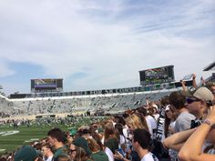 before the game started