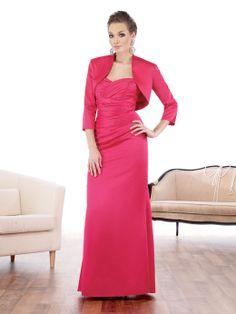 Sweetheart sheath / column with ruffle embellishment satin party dress