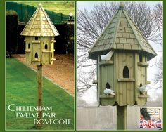 Dovecotes! Canterbury Dovecote Large Free Standing For
