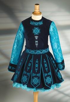 #Irish_Dance #Dress