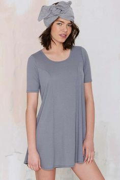 Simple Game Ribbed Dress   Shop Clothes at Nasty Gal!