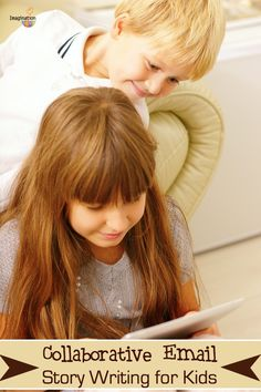 my kids LOVE this --> collaborative story writing for kids (in the digital age)