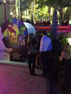The #BoothUp for Disney Pixar at Cannes Festival was a succes #Cannes2015 #InsideOut #ViceVersa #connectedphotos
