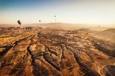Turkey: Balloon ride over Cappadocia Morning :D