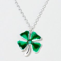 Wear a little green with this cute necklace from Claires $6.00