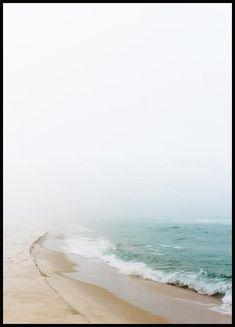 A harmonious poster of a wave rolling onto the beach. The pastel colours make this poster a perfect fit for a stunning photo wall. New York Poster, Hogwarts, Beach Posters, Love Posters, The Beach, Beach Walk, Morning Sun, Brigitte Bardot, Good Morning Posters